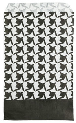 "Houndstooth Pattern Paper Bags - 100Bags/Pack (4"" x 6"")"