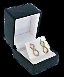 Black Pendant Wrap less Premium Ribbon Box