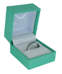 Robin's Egg Blue Ring Gift Jewelry Box