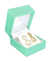 Robin's Egg Blue Pendant/Earring Gift Box