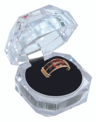 Crystal Style Ring Box(Diamond Cut)