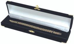 Black Bracelet/Watch Clasped Box