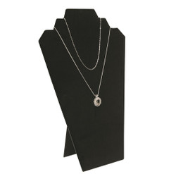 "Black 12 1/2""H Necklace Display with Easel"
