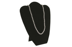 "Black 10 7/8""H Necklace Display with Easel"
