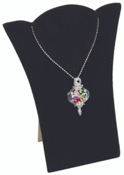 "Black 7 7/8""H Necklace Display with Easel"