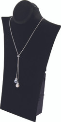 "Black 11 3/4""H Necklace Display with Easel"