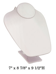 White Adjustable Stand Jewelry-Displays