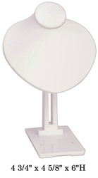White Adjustable Angle Stand Jewelry-Displays