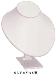 White Adjustable Angle Large Stand Jewelry-Displays
