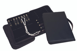 Black Leatherette Folders - Combination