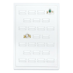 Small 25 Ring Slot Insert Tray