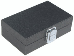 "X-Small Solid Top Lid with Metal Claps Display Tray - 6"" x 3 3/4"" x 2""H"