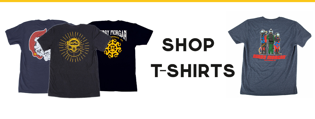 kirby morgan t-shirts