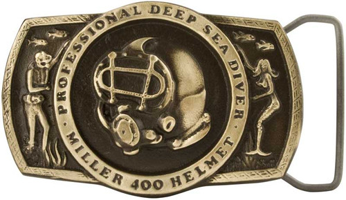 Miller Diving Belt Buckle