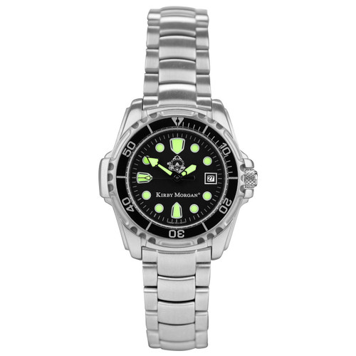 Kirby Morgan Stainless Steel 22mm Watch