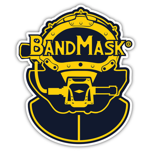 BandMask® Die Cut Sticker