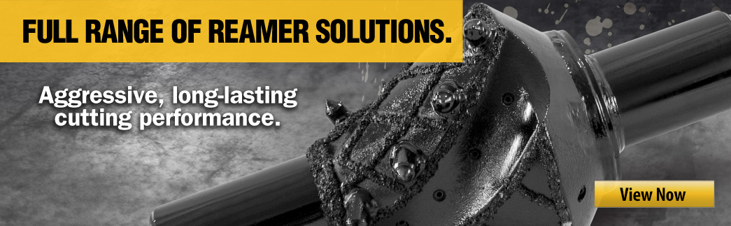Vermeer Borestore offers a full range of reamer solutions. View Now.
