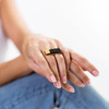 Gold Staircase Ring