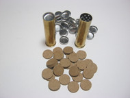 Metal and Vegetable shotshell wads