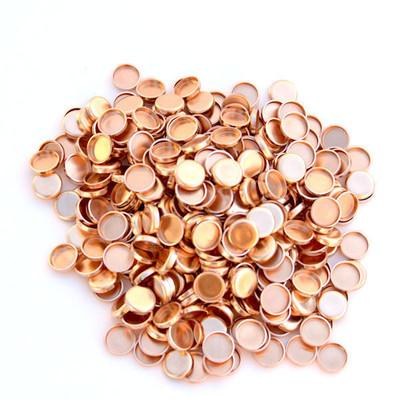 .30 copper gas checks, .015 version.