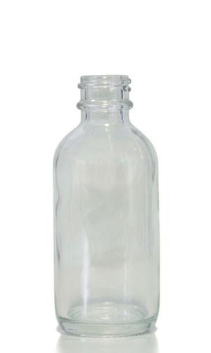 2b7e296170a4 60 ML (2 oz) Clear Glass Boston Round
