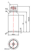 15ML (0.5oz) Euro Bottle Specs