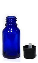 15ML Blue Essential Oil Bottle with Tamper Evident Cap & Orifice Reducer