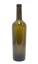 Antique Green Bordeaux Wine Bottle #57 - Case of 12