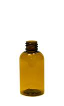 30 ml (1 oz.) Amber PET Plastic Boston Round Bottles
