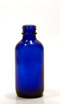 30ML (1oz) Blue Boston Round Bottles With No Closure