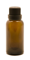 30ML Amber Essential Oil Bottle with Heavy Duty Tamper Evident Cap & Orifice Reducer
