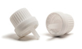 White Heavy Duty Tamper Evident Cap & Orifice Reducer
