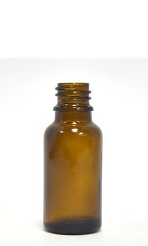30ML Amber Glass European Round Bottle