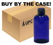 Case of 30 ml (1 oz) Blue PET Plastic Boston Round Bottles