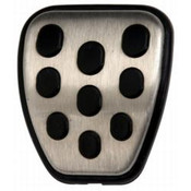 ALUMINUM AND URETHANE SPECIAL EDITION MUSTANG PEDAL COVER 1 M-2301-B