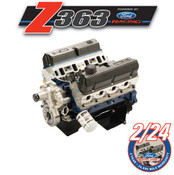 363 CUBIC INCH 500 HP BOSS CRATE ENGINE-Z2 HEADS-REAR SUMP PAN M-6007-Z2363RT