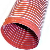 Air Duct Hose - Orange Silicone