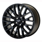"2015-2020 MUSTANG GT PERFORMANCE PACK FRONT WHEEL 19"" X 9"" - MATTE BLACK M-1007-M199B"