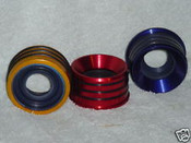 AXLE TUBE SEAL .188 WALL RED