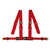 4 POINT HARNESS RED