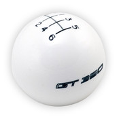 FORD PERFORMANCE GT350 SHIFT KNOB 6-SPEED - WHITE M-7213-M8SW