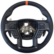 2015-2018 F-150 RAPTOR PERFORMANCE STEERING WHEEL KIT- ORANGE SIGHTLINE