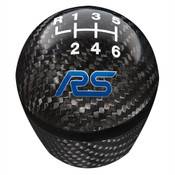 FOCUS RS SHIFT KNOB-CARBON FIBER, 6 SPEED  M-7213-FRSCF
