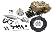 Holley Sniper EFI Quadrajet™ Master Kit - Classic Gold Finish