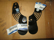 Ford Mustang LH and RH Front Brake-Backing Plate Splash Shields
