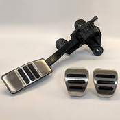 MUSTANG ALUMINUM PEDAL KIT-MANUAL TRANSMISSION M-2301-BM
