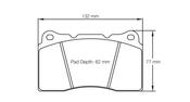 Pagid 2487 Brake Pad