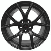 "2015-2020 MUSTANG HP PERFORMANCE PACK 19"" X 10.5"" FRONT WHEEL - MATTE BLACK"