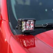 RANGER HOOD HINGE-MOUNTED OFF ROAD LIGHT KIT M-15200-RHM