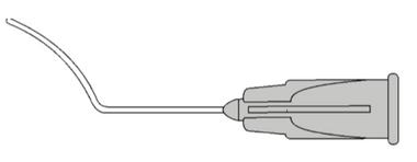 7627  LASIK Spatula/Irrigator 27G